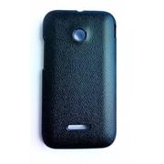 Чехол-накладка Leather Pattern для Huawei Ascend Y210 Black