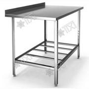 Стол разделочно-производственный с одним бортом СРП-1-0,7/0,95 фото