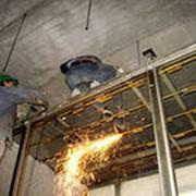 Резка и демонтаж металлоконструкций фото