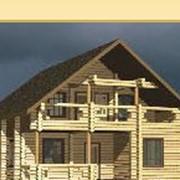 Коттедж деревянный Жемчужина фото