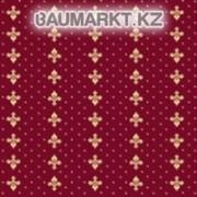 Ковролан Berber - Luiza 3601 8 20733 4м бордовый с лилиями фото