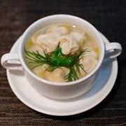 Доставка супов - Пельмени с бульоном фото