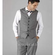 Пошив мужского жилета из ткани ателье с вложениями шерсти фото