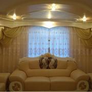 Индивидуальный пошив штор, гардин, ламбрекенов,Шторы для гостинной фото