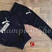 Мужской спортивный костюм Puma черный фото