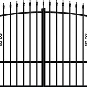 Ворота металлические сварные фото