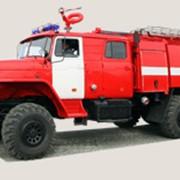 Пожарная автоцистерна АЦ-6,0-40 на шасси Урал 4320-1912-40 фото