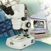 Цифровой стереоскопический микроскоп фото