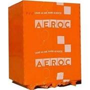 Упаковка и доставка силикатного кирпича, укладка газобетона AEROC, газоблока AАС, клеевой смеси. фото