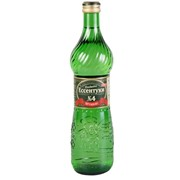 Вода минеральная Ессентуки №4, стеклянная бутылка 0,5л фото