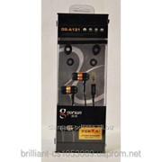 Наушник Gorsun GS-A131, прочная оплетка шнура, вакуумные фото