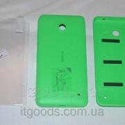Задняя зеленая крышка для Nokia Lumia 630 | 635 | 636 | 638 + ПЛЕНКА В ПОДАРОК фото