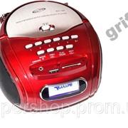 Бумбокс колонка MP3 USB радио Golon RX 186 Red par002566opt фото