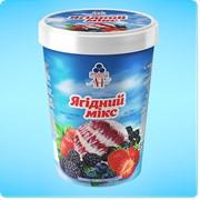Мороженое Ягодный микс фото