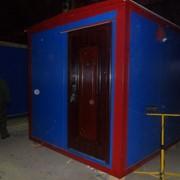 Туалет-павильон СМ - 2,5*2,5 фото