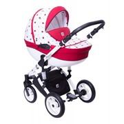 Детская коляска Dada Paradiso Group Glamour Yellow 2015 3 в 1 модель 3 фото