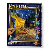Раскраска по номерам. Репродукция Ночное кафе Ван Гог фото