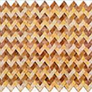 Листовая панель ПВХ Косичка Дуэт 960*480мм, толщина 0,4 мм фото