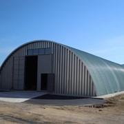 Строительство бескаркасных ангаров по Украине фото