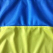 Флаг Украины флажная сетка 90см*135см фото