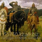 Картина по номерам Три богатыря - В.Васнецов фото
