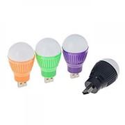 Светильник светодиодный Luazon, в USB, цвет микс фото