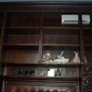 Библиотечные шкафы фото