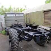 Грузовой автомобиль ГАЗ-66. Шасси. фото