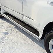 Защита порогов Lexus GX 460 2009-2013 (42 мм) фото