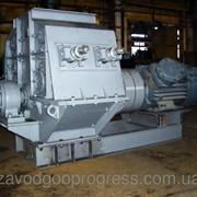 Молотковая дробилка ДМПП 12х10 с подвижной дробящей плитой фото