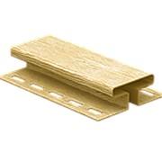 H-профиль соединительный TimberBlock Ю-Пласт Дуб Золотистый фото