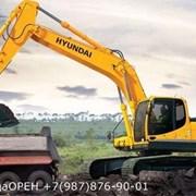 Аренда Услуги Экскаваторов колесного Hyundai r170W 0,6м3 фото