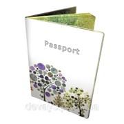 Обложка оригинальная для паспорта Апрель в саду фото