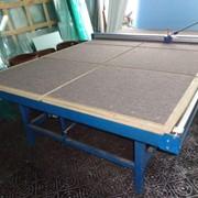 Оборудование для производства оконных систем, стойки для хранения пластиковых рам фото