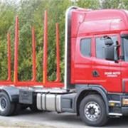 Автопоезд-лесовоз Scania фото
