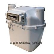 Счетчик газа диафрагменный с термокомпенсатором СГД-3Т G4 (левый) (200 мм) фото