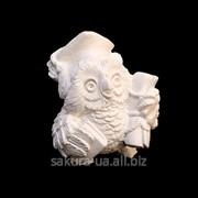 Фигурка для Росписи / Гипс / Сова Магистр / Белый a01003-05 фото