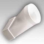 Соединитель эксцентриковый прямоугольного воздуховода 60х204 с круглым D125 620СП125КП фото