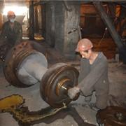 Ремонт колесных пар вагонеток фото