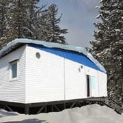 Дом - вагон Столовая на 12 посадочных мест 8,0х2,8х2,8 фото