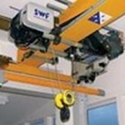 Кран двухбалочный опорный электрический мостовой фото