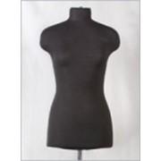 Манекен портновский женский р48 (96-79-102) мягкий цв чёрный фото