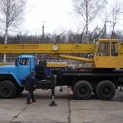 Услуги автокрана 25 т на базе Урала фото
