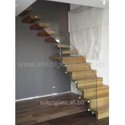 Лестницы стеклянные | Sokolglass фото