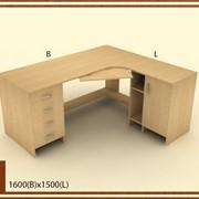 Столы для персонала деревянные на заказ фото