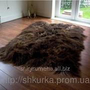 Ковер из 6-х овечьих шкур (овчины) 020 фото