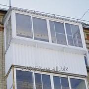 Вынос и расширение балкона фото
