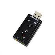 Звуковая карта внешняя USB Audio adapter 7.1 фото