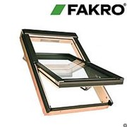Окна FAKRO FTP-V U3 с цветным витражным стеклопакетом фото