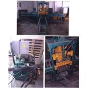 Оборудование вибропрессовое универсальное для производства тротуарной плитки и гладких стеновых блоков фото